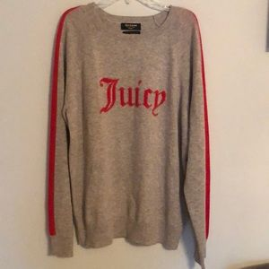 NWT Cashmere Juicy Couture Sweater